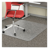 chair mats: deflect-o® EconoMat® Chair Mat for Low Pile Carpeting