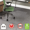 Deflect-O deflect-o® RollaMat™ Chair Mat for Medium Pile Carpeting DEF CM15113