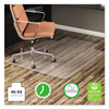 Deflect-O deflecto® EconoMat® Non-Studded Anytime Use Chairmat for Hard Floors DEF CM21232COM