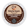Gloria Jean's Gloria Jeans French Vanilla Supreme Coffee K-Cups DIE 60051046CT