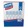 cutlery and servingware: Dixie® Heavy Weight Fork Tableware