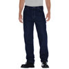 workwear jeans: Dickies - Men's Relaxed-Fit Straight-Leg Carpenter Jeans
