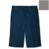 Dickies Boys Plain-Front Extra-Pocket Shorts DKI 42562-SV-10