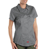 womens tees: Dickies - Women's Short Sleeve Twill Work Shirts
