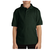 Dickies Kids Short Sleeve Pique Polo Shirts DKI KS4552-GH-L