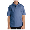 Dickies Kids Short Sleeve Pique Polo Shirts DKI KS4552-LB-M