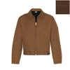 workwear jackets: Dickies - Men's Ribbed Canvas Industrial Friendly Jacket