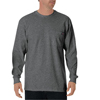 dickies: Dickies - Men's Long Sleeve Heavyweight Crew Neck Tee Shirts