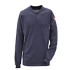 Walls FR Mens Flame Resistant Long Sleeve Henley DKI 56950NA9-2L-0R