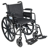 Wheelchairs: Drive Medical - Cirrus IV Lightweight Dual Axle Wheelchair with Adjustable Arms