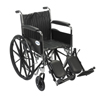 Drive Medical Chrome Sport Wheelchair CS18FA-ELR
