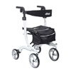 Drive Medical Nitro Euro Style Walker Rollator, Tall DRV RTL10266WT-T