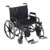 Drive Medical Deluxe Sentra Heavy Duty Extra Extra Wide Wheelchair DRV STD30DDA-ELR