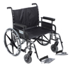 Drive Medical Deluxe Sentra Heavy Duty Extra Extra Wide Wheelchair DRV STD30DFA-SF