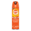 cleaning chemicals, brushes, hand wipers, sponges, squeegees: OFF! ACTIVE Insect Repellent