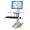 Ergotron Ergotron® WorkFit-S Sit-Stand Workstation with Worksurface+ ERG 33350211