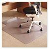 E.S. Robbins ES Robbins® Crystal Pane™ Ergonomic Chair Mat for Carpet ESR 122271