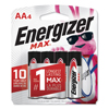 batteries: Energizer® MAX® Alkaline Batteries