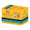 White Coffee First Colony Rainforest Blend - Keurig K-Cup® Compatible Single Serve Cups KCUFC199804004-20