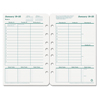 Franklin Covey FranklinCovey® Original Green Dated Weekly & Monthly Planner Refill FDP 3542315