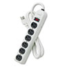 Fellowes Fellowes® Six-Outlet Metal Power Strip FEL 99027