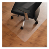 chair mats: Floortex™ ClearTex™ Ultimat™ Anti-Slip Polycarbonate Chair Mat for Hard Floors