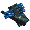 Fabrication Enterprises Pouch® Variable Wrist and Ankle Weight - 5 lb, 5 x 1 lb. Inserts - Black FNT 10-0301