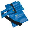 Fabrication Enterprises Pouch® Variable Wrist and Ankle Weight - 20 lb, 5 x 4 lb. Inserts - Blue FNT 10-0304