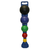 Concrete Masonry Tools Knee Boards: Fabrication Enterprises - CanDo® MVP® Balance System - 5-Ball Set with Wall Rack (1 Each: Yellow, Red, Green, Blue, Black)