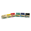 Rehabilitation: Fabrication Enterprises - CanDo® Latex Free Exercise Band - 6 Yard Rolls, 5-Piece Set (1 Each: Yellow, Red, Green, Blue, Black)