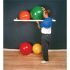 "Rehabilitation: Fabrication Enterprises - Inflatable Exercise Ball - Accessory - PVC Wall Rack, 64"" x 18"" x 2"", 1 Shelf"