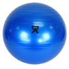 "Rehabilitation: Fabrication Enterprises - CanDo® Inflatable Exercise Ball - Blue - 42"" (105 cm)"