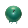 "Rehabilitation: Fabrication Enterprises - CanDo® Inflatable Exercise Ball - with Stability Feet - Green - 26"" (65 cm)"