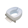 Bathroom Aids Raised Toilet Seats: Fabrication Enterprises - Raised Toilet Seat, Accessory, Bolt-Down Bracket