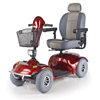 Golden Avenger Heavy-Duty Bariatric 4-Wheel Mobility Scooter GDX GA541D-RED