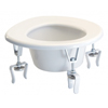 GF Health Versa Height Raised Toilet Seat GHI 6490A
