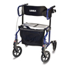 GF Health Lumex® Hybrid LX Rollator Transport Chair, Majestic Blue GHI LX1000B