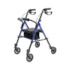 GF Health Set n Go Height Adjustable Rollator, Blue GHI RJ4700B