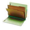 Globe-Weis Globe-Weis® Heavy-Duty Pressboard End Tab Classification Folders GLW 23224