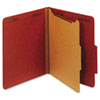 Globe-Weis Globe-Weis® Heavy-Duty Pressboard Top Tab Classification Folders GLW 23775