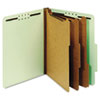 Globe-Weis Globe-Weis® Heavy-Duty Pressboard Top Tab Classification Folders GLW 24091