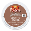 Coffee K Cup Compatible: Folgers Gourmet Selections Mocha Swirl Coffee K-Cups