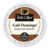 Peet's Peets Coffee  Tea Cafe Domingo Coffee K-Cups GMT 6543