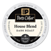 Peet's Peets Coffee  Tea House Blend Coffee K-Cups GMT 6546