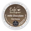 hot chocolate: Cafe Escapes Milk Chocolate Hot Cocoa K-Cups