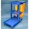 Janitorial Carts, Trucks, and Utility Carts: Geerpres - Econoline Plastic Janitor Cart