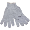 Safety-zone-cotton-gloves: Safety Zone - Grey String Knit Gloves - Men's