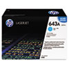 Hewlett packard: Hewlett Packard 643A, (Q5951AG) Cyan Original LaserJet Toner Cartridge for US Government