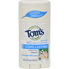 Tom's of Maine Natural Deodorant Aluminum Free Honeysuckle Rose - 2.25 oz - Case of 6 HGR 0183061