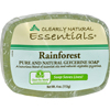 soaps and hand sanitizers: Clearly Natural - Glycerine Bar Soap Rainforest - 4 oz